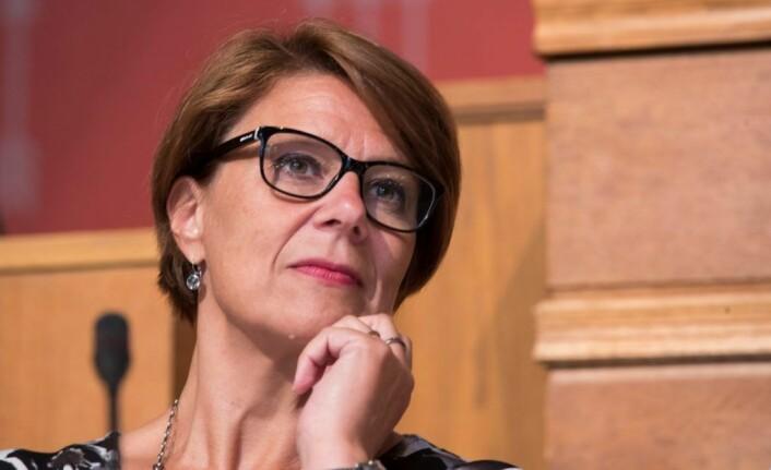 � Byråd Tone Tellevik Dahl nekter for at hun forsøkte å hindre journalisten i å gjøre jobben sin. Foto: Terje Pedersen / NTB scanpix