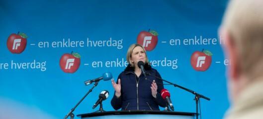 – Det er svært uetisk av Sylvi Listhaug å bruke begrepet getto om Søndre Nordstrand