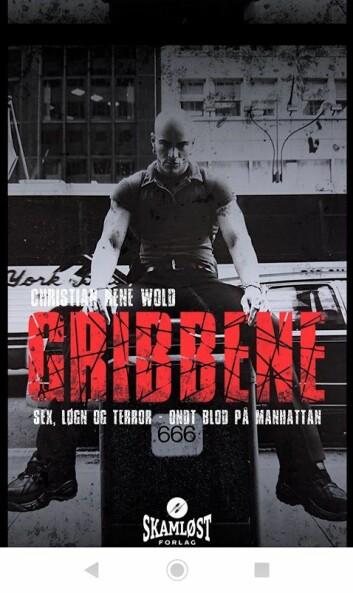 Gribbene heter den tredje og siste boka i serien om gangsteren Kiran. Foto: Christian René Wold