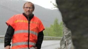 – Har du da høy fart og lite kontroll, kan det fort oppstå ulykker med personskader, sier Hans Olav Hellesøe i Statens Vegvesen. Foto: Statens Vegvesen