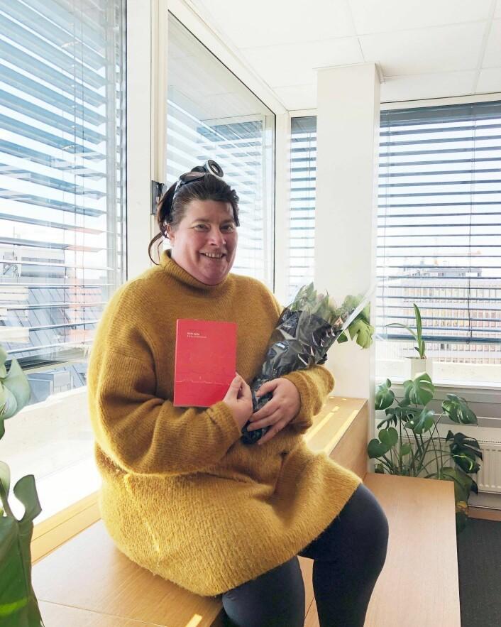 Spalten til kirke-Kjersti ble fast lesning for svært mange mennesker i fjor. Foto: Vårt Land forlag