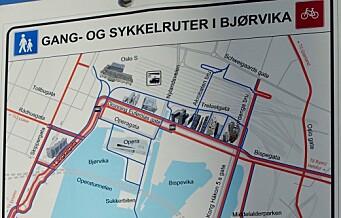 – Oslo FrP tror at bare man asfalterer noen hull i gata, så vil oslofolk kaste seg på sykkelen