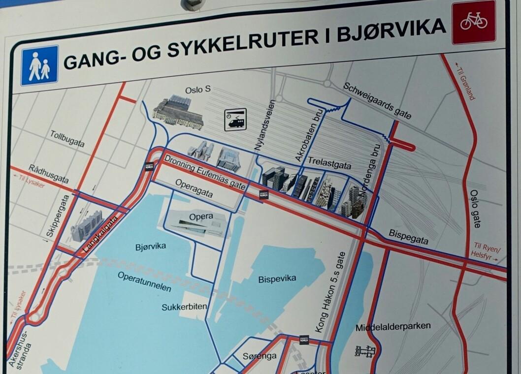 - Etter at MDG kom i byråd har Oslo kommune bygget 15 kilometer hvert år, ti ganger mer enn før. Foto: Wolfmann / Wikimedia Commons