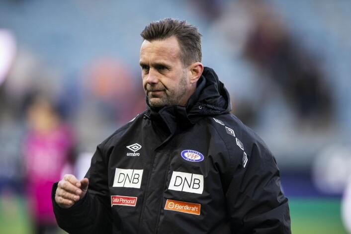 — Gutta viser moral og det er sterkt at vi holder unna med 10 mann, mener VIF-trener Ronny Deila. Foto: Carina Johansen / NTB Scanpix