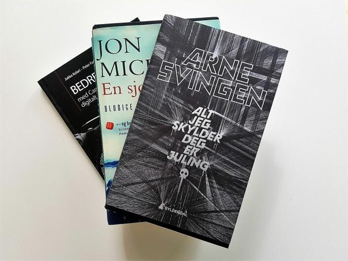 Arne Svingens siste roman «Alt jeg skylder deg er juling» handler blant annet om Herman. For Herman er det enklest å slå. Ikke nødvendigvis slåss, men å slå først. Foto: André Kjernsli
