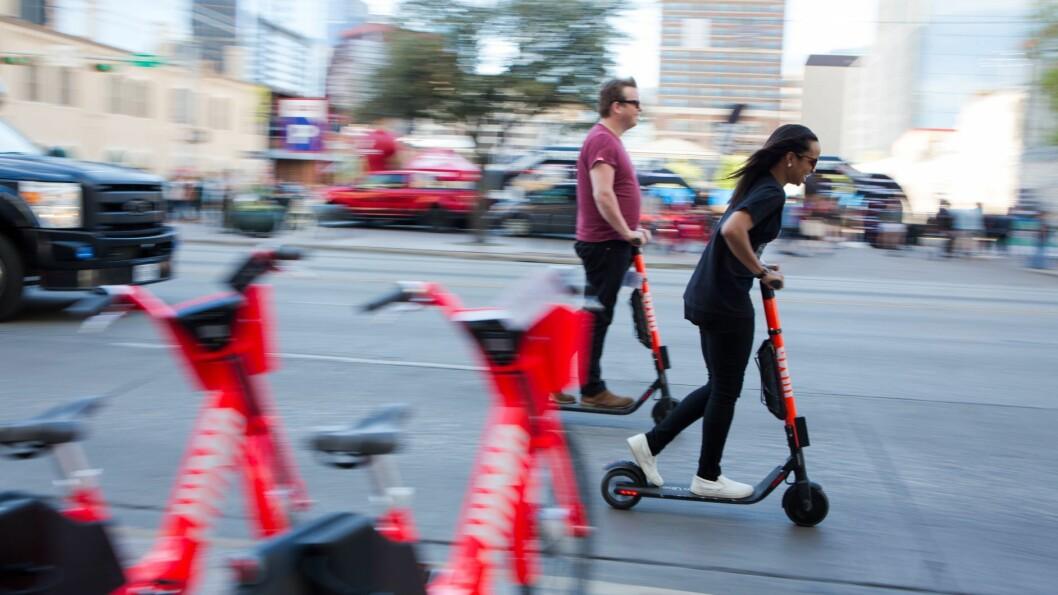 Full rulle i Austin, Texas. Foto: Martin Gundersen / NRKbeta.no