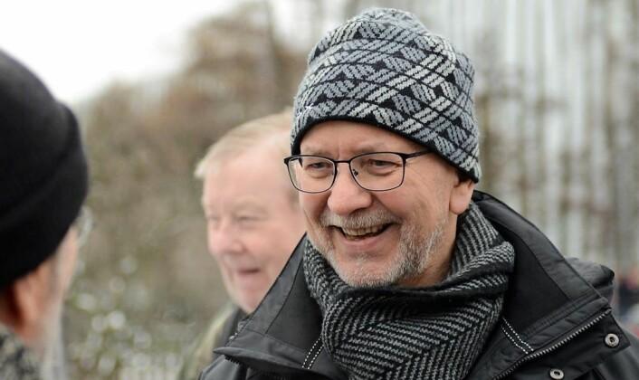 Nestleder i miljøforeningen Akerselvas venner, Per Østvold, sier at foreningen er positive til en badeplass ved Myraløkka. Foto: Morten Lauveng Jørgensen