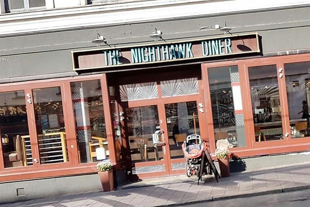 The Nighthawk Diner på Grünerløkka er nå konkurs, men drives videre med ny eier. Foto: Visit Oslo