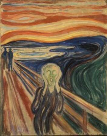 Edvard Munch, Skrik, 1910 (den versjonen som ble stjålet)