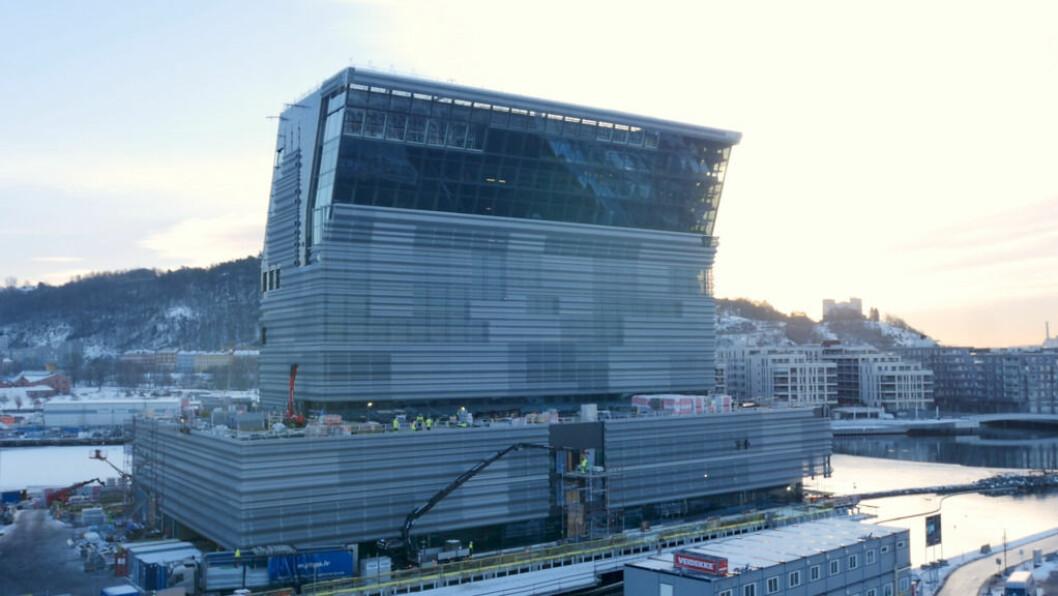Det har vært mye debatt om utseendet på det nye Munchmuseet som bygges i Bjørvika. Nå kan Oslo få sin egen byarkitekt Foto: Thor Christofer Brøgger Langfeldt