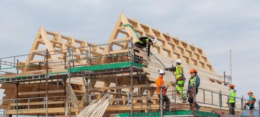 OBOS bygger et felleshus for beboerne på Fornebu