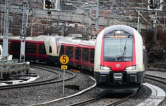 Vedlikehold og bygging på jernbanen får konsekvenser for togtrafikken i sommer