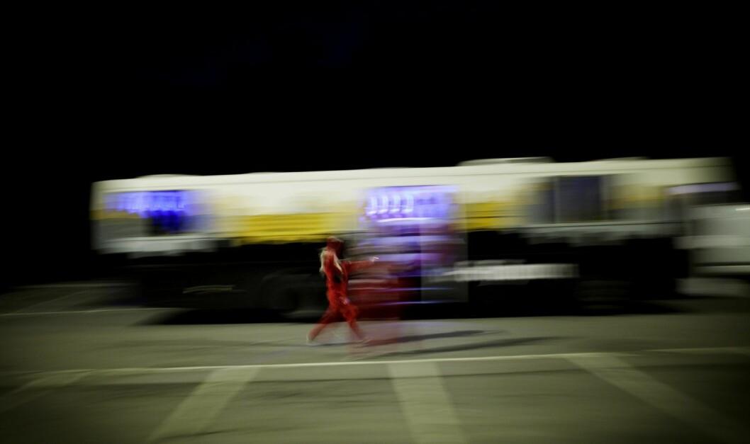Politiet rykket ut to ganger til bråk mellom russ ved Gaustad natt til lørdag. Foto: Kyrre Lien / Scanpix