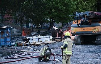 Ingen pågripelser etter brannen ved Jordal Amfi
