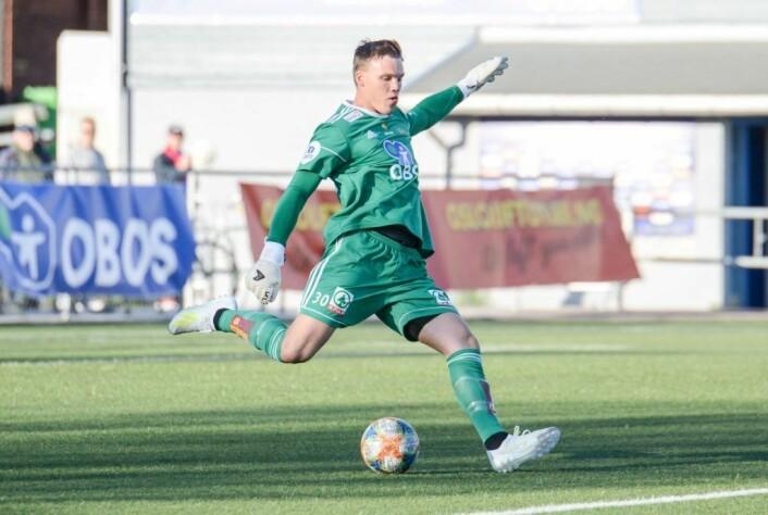Idar Nordby Lysgård kom til Skeid som guttespiller, og er umåtelig populær blant Skeid-supporterne. Foto: Anders Vindegg