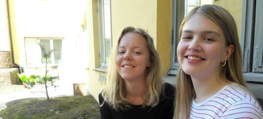 Gatenavnene forteller historien om hovedstadens klasseinndeling, påviser to elever fra Oslo by Steinerskole