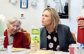 Faktisk.no: — Nei, Sylvi Listhaug la ikke ned alle kjøkkenene ved Oslos sykehjem