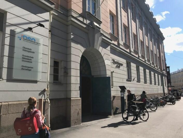 � Det haster med å utvide og skaffe godkjente lokaler, sier styreleder Knut Kroepelien ved Den tysk-norske skolen i Oslo. Foto: Seser Subazi / Den tysk-norske skolen