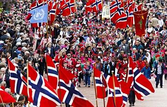Varsler perfekt 17. maivær i Oslo. Se hele programmet og rekkefølgen i barnetoget