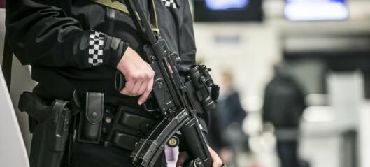 Væpnet politijakt etter at mann ble truet med hagle i Håkon Tveters vei