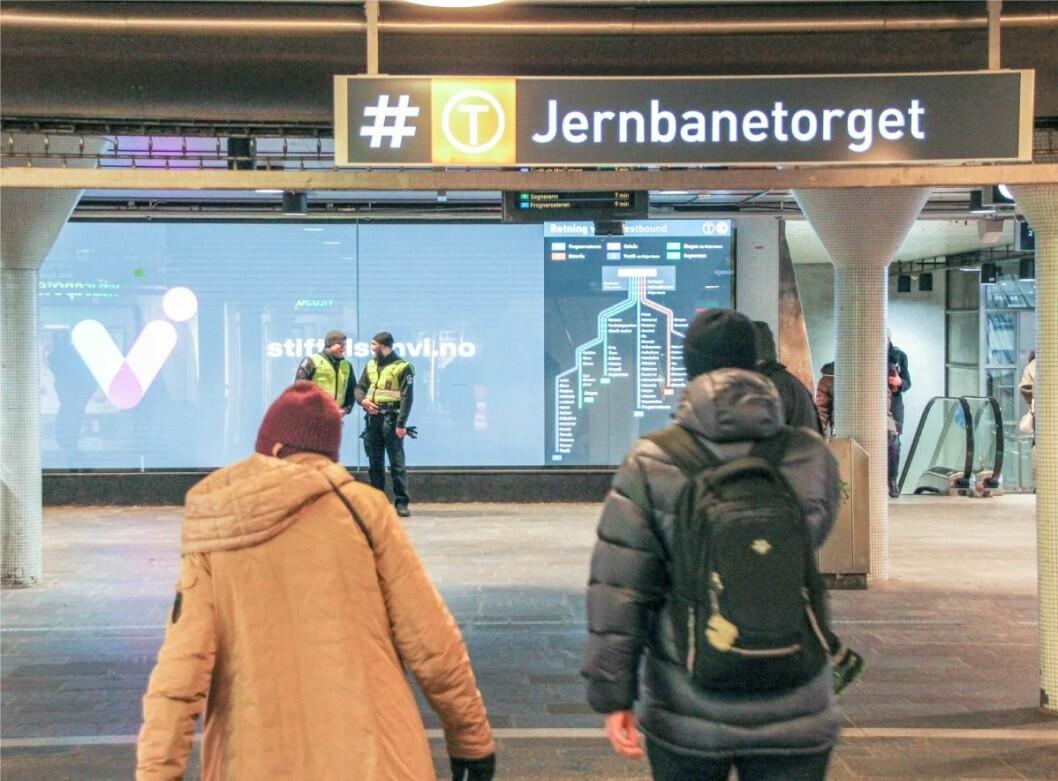 – Det er ikke akkurat venner for livet du får på Oslo S, sier en av informantene i rapporten. Foto: Velferdsetaten