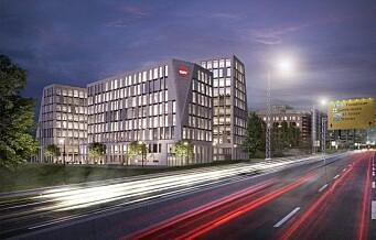 1000 NAV-ansatte i nybygg på Helsfyr får kun 11 parkeringsplasser
