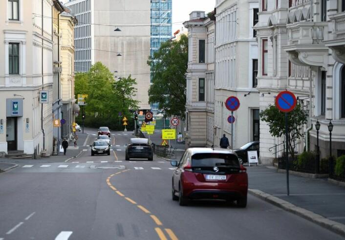 Fra mandag 20. mai stenges Løkkeveien for trafikk. Foto: Christian Boger
