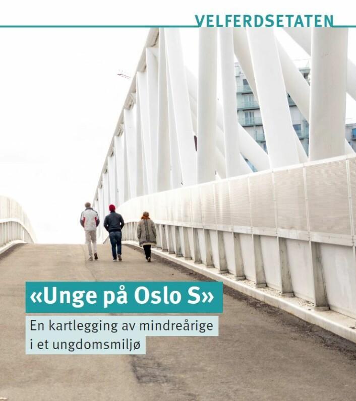I løpet av 2018 var Uteseksjonens patruljer i kontakt med 249 mindreårige på Oslo sentralstasjon. Foto: Velferdsetaten
