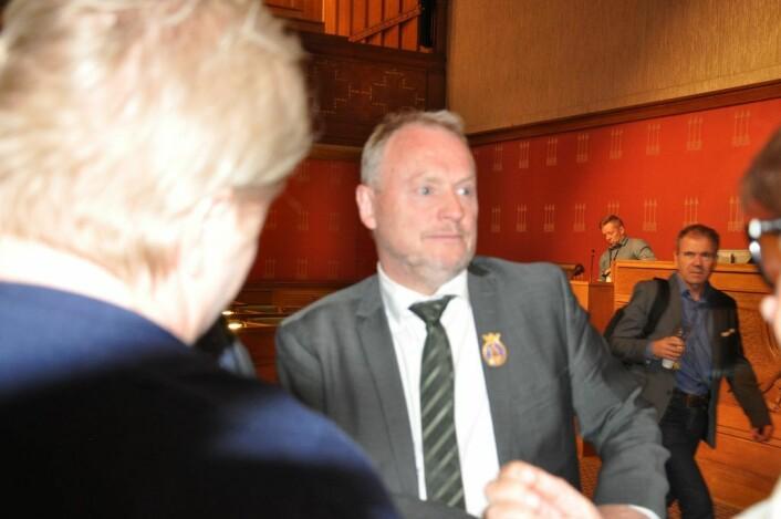 Eksponering nummer 2. Foto: Arnsten Linstad