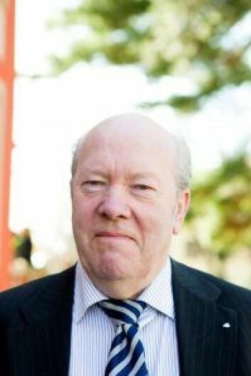 Nils Øy er tidligere leder av Redaktørforeningen. Han synes oppførselen til Tellevik Dahl er kritikkverdig. Foto: Berit Roald / Scanpix