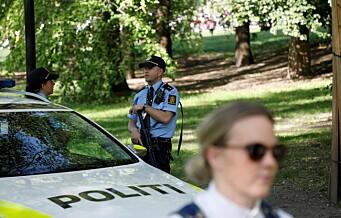 Ingen uønskede hendelser 17. mai i Oslo. Væpnet politi over hele landet