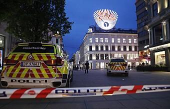 En person stukket i magen på Egertorget. Politiet jakter på en kvinne og to menn