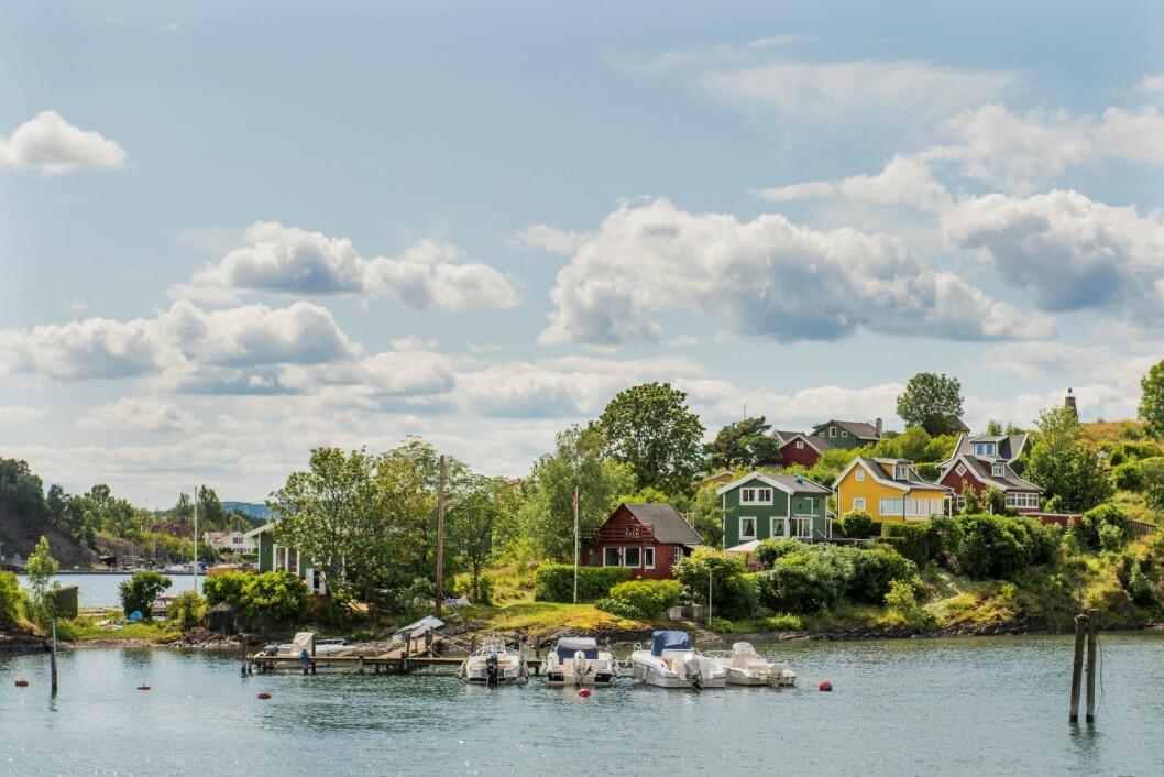 Lindøya er en av fire øyer i Indre Oslofjord som Statsbygg ønsker å selge. Foto: Fredrik Varfjell / NTB scanpix