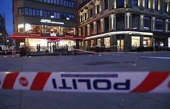 Politiet finkjemmer overvåkingsbilder etter at mann ble stukket ned på Egertorget