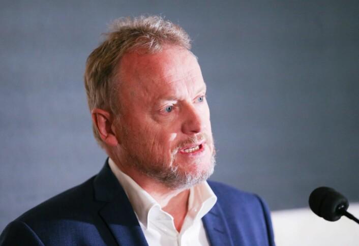 Tidligere har byrådsleder Johansen sagt at han mener at Oslo trenger flere kommunale boliger og at byrådet utreder en tredje boligsektor, for å få flere inn på boligmarkedet. Foto: Fredrik Hagen / NTB scanpix