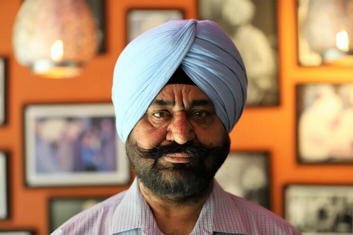 Da Harinder Singh kom til Norge i 1983 hadde han mange års restauranterfaring med i bagasjen. Likevel startet han som ribbekapper hos Gilde. Nå står overhodet i oslofamilien bak tre serveringssteder. Foto: André Kjernsli