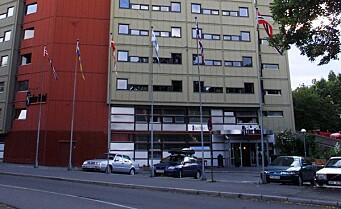Branntilløp på Anker hotell i Storgata