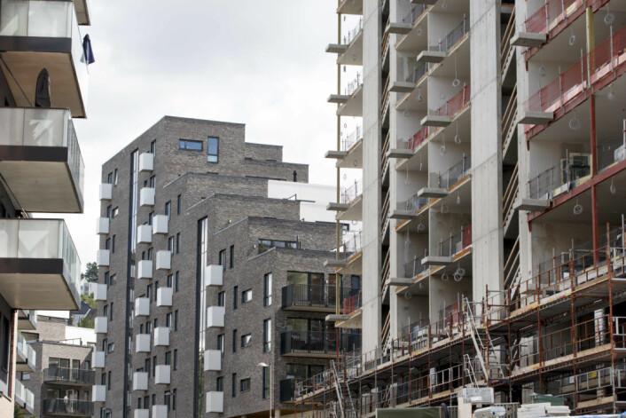 Boligprisene stiger og stiger i Oslo. Bare første kvartal i år hadde boligprisene i hovedstaden steget med 4,3 prosent, viser tall fra Eiendom Norge. Foto: Gorm Kallestad / NTB scanpix
