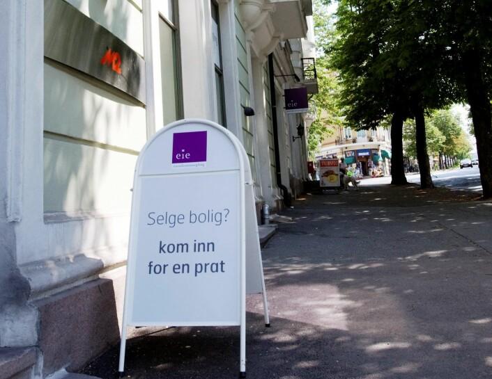 Ifølge beregninger fra Eiendom Norge har en nyutdannet sykepleier råd til 5 prosent av de boligene som selges i Oslo. Foto: Morten Holm / SCANPIX .