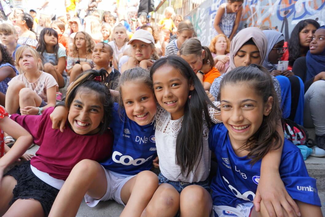 Barn fra hele Gamle Oslo kommer sammen og opptrer på Miniøya til helga. Foto: KIGO