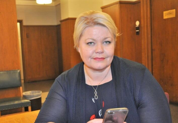 � Marion og omlag 60 andre i lignende situasjon får tilbake sin gamle husleie fra før økningen i 2017. De får også tilbakebetalt differansen de har betalt for mye siden økningen ble innført, sier næringsbyråd Marthe Scharning Lund (Ap). Foto: Arnsten Linstad