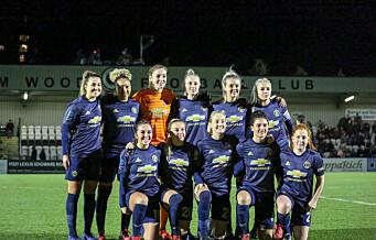 Historisk kamp. Vålerenga fotball damer vs. Manchester United Women