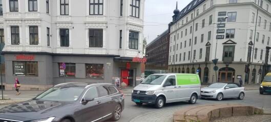 – Trafikkøkning i nabogatene etter at Løkkeveien ble stengt