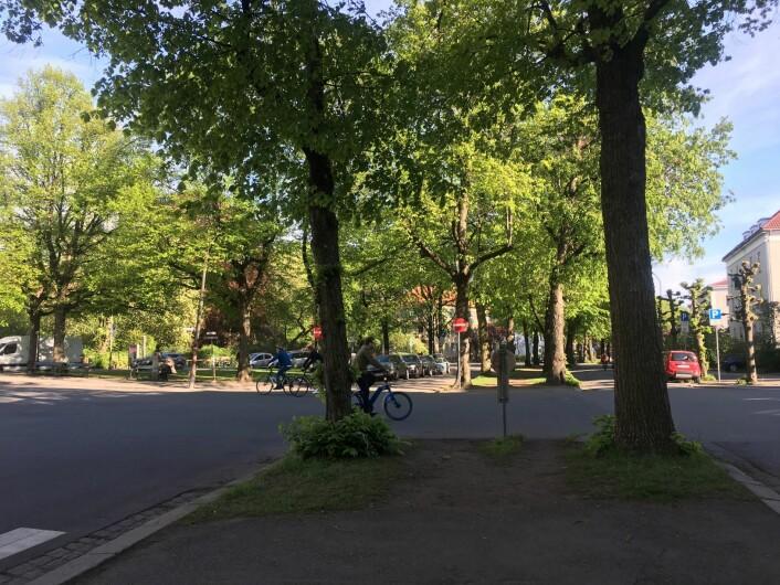 Godt mulig begynner arbeidene med sykkelvei i sommer. Da vil det bli tryggere for syklister, mener byråd Arild Hermstad. Foto: Ingalill Sandal