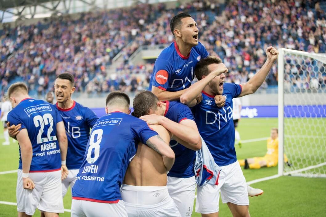 Vålerenga møter Bærum i tredje runde av cupen. Foto: Terje Pedersen / NTB scanpix