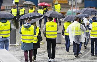 Streiken i Oslo rådhus er avsluttet. Akademikerne enig med kommunen