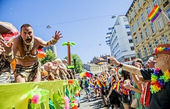Oslo Pride med 50-årsmarkering av opptøyene utenfor den skeive New York-baren Stonewall Inn