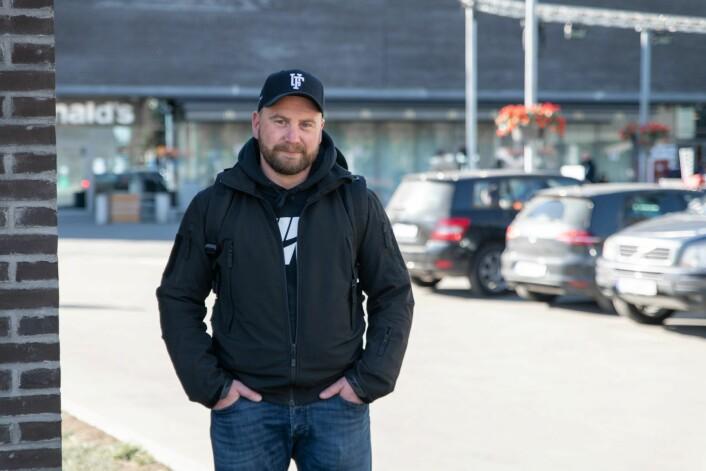 Storosenteret er et av stedene hvor Rune Lyberg, fra Barnas Trygghet, møter antatte overgripere. Foto: Anna Carlsen