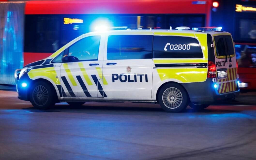 Gutten er siktet for å ha voldtatt en jente i slutten av tenårene på en adresse på Holmlia tirsdag ettermiddag. Foto: Erik Johansen / NTB scanpix