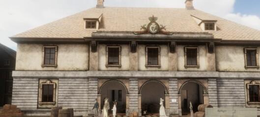 Nå kan du gå på hjemmebesøk til osloborgere fra 1798. Dataspill-opplevelse tar deg med på vandring i Oslo-gater